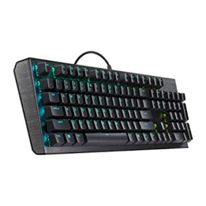 COOLER MASTER CK550 MECHANICAL RGB GATERON BROWN KEYBOARD