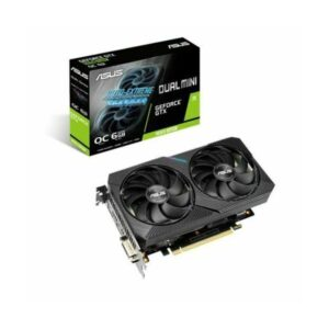 ASUS DUAL GTX 1660 SUPER MINI OC 6GB GDDR6 GRAPHICS CARD