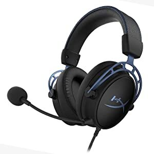HYPERX CLOUD ALPHA S 7.1 BLUE GAMING HEADSET