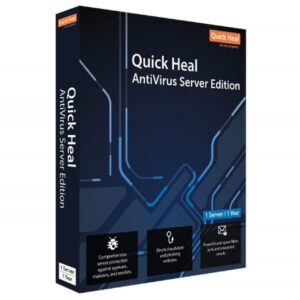 QUICKHEAL ANTIVIRUS SERVER EDITION 1PC 3YEAR SOFTWARE