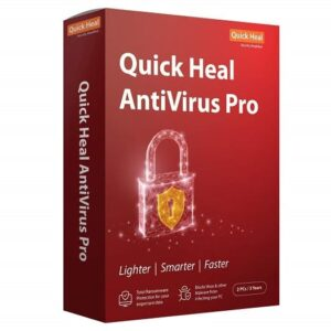 QUICKHEAL ANTIVIRUS PRO 2PC 3YEAR SOFTWARE