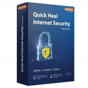QUICKHEAL INTERNET SECURITY 1PC 3YEAR SOFTWARE