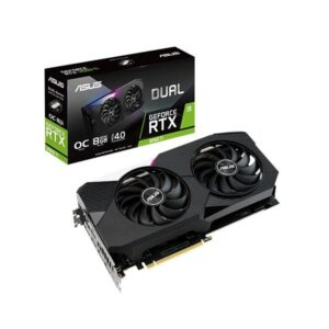 ASUS DUAL RTX 3060TI 8GB DDR6 GRAPHICS CARD