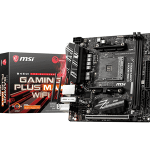 MSI B450I GAMING PLUS MAX WIFI MOTHERBOARD