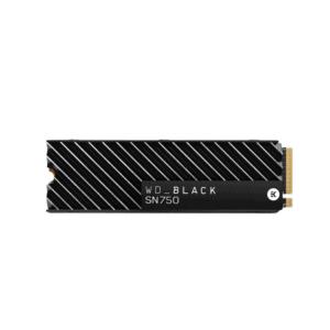 WD BLACK SN750 1TB M.2 NVME SSD WITH HEATSINK