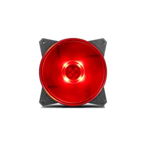 COOLER MASTER MASTERFAN MF120L RED LED CASE FAN
