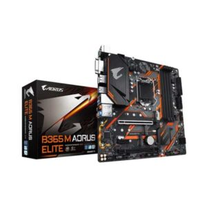 GIGABYTE B365 M AORUS ELITE LGA 1151 9TH AND 8TH GEN MOTHERBOARD