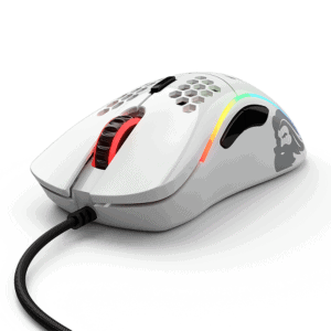 GLORIOUS MODEL D GLOSSY WHITE MOUSE