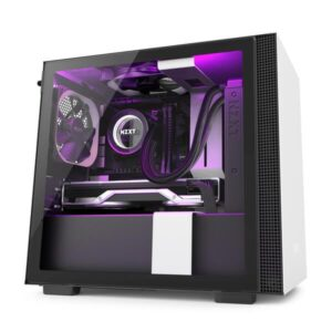 NZXT H210I (MATTE WHITE) MID TOWER CABINET