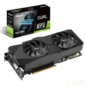 ASUS DUAL RTX 2060 SUPER EVO 8GB GDDR6 GRAPHICS CARD