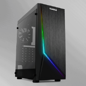 GAMDIAS ARGUS E1 MID TOWER CABINET WITH 120 MM FAN AND RGB LIGHTING