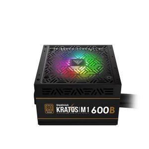 GAMDIAS KRATOS M1 600B 600 WATTS 80+ BRONZE RGB PSU