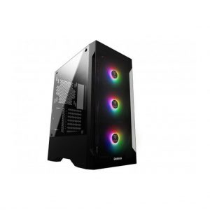 GAMDIAS TALOS E2 MID TOWER CABINET WITH 3 BUILT IN 120 MM ARGB FANS
