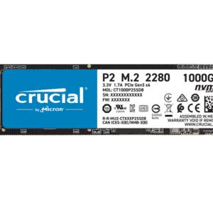 SSD CRUCIAL P2 3D 1TB NAND NVME PCIE M.2