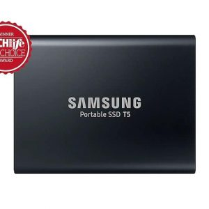 SAMSUNG T5 1TB BLACK USB 3.1 PORTABLE EXTERNAL SSD