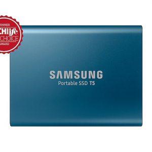 SAMSUNG T5 500GB BLUE USB 3.1 EXTERNAL PORTABLE SSD