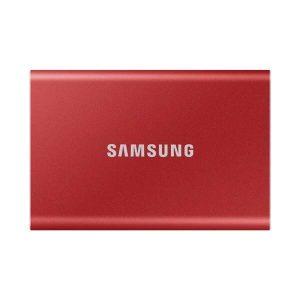 SAMSUNG T7 2TB USB 3.2 EXTERNAL SSD (RED)