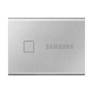SAMSUNG T7 TORCH 1TB PORTABLE EXTERNAL SSD SILVER