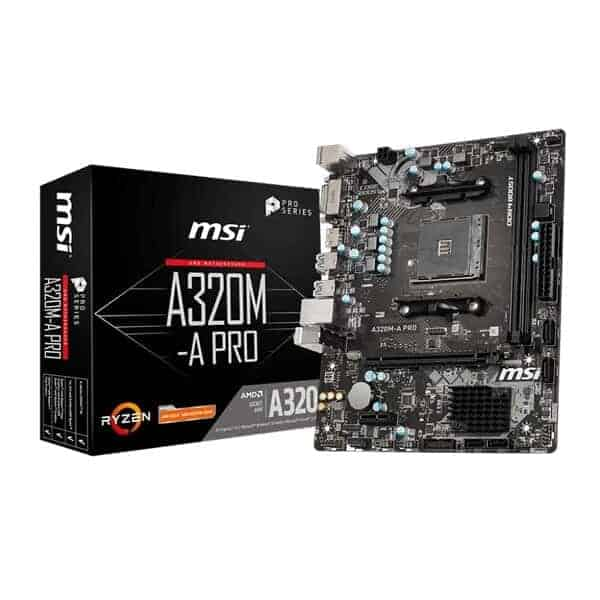 MSI A320M A PRO MOTHERBOARD