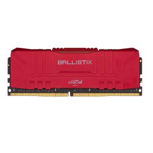 CRUCIAL BALLISTIX 8GB 2666 MHZ DESKTOP RAM (RED)
