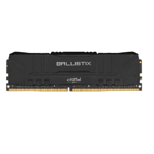 CRUCIAL BALLISTIX 16GB 3600 MHZ DESKTOP RAM (BLACK)