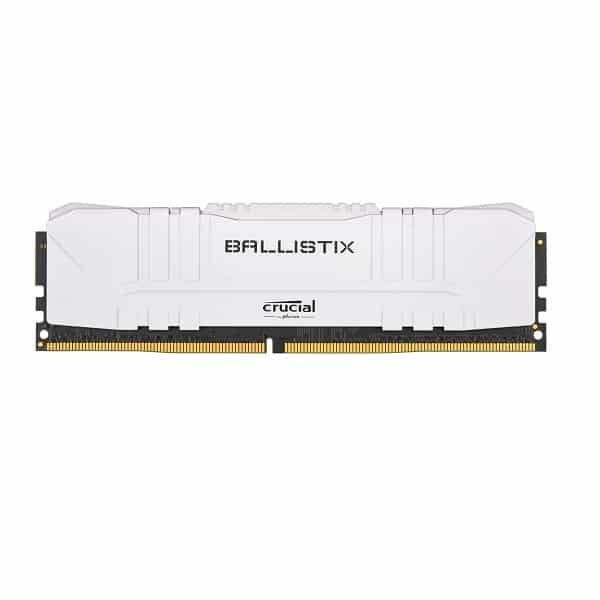 CRUCIAL BALLISTIX 16GB 2666 MHZ DESKTOP RAM (WHITE)