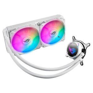 ASUS ROG STRIX LC240 RGB WHITE LIQUID COOLER