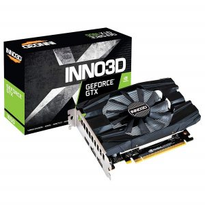 INNO3D GEFORCE GTX 1650 COMPACT 4GB DDR6 GRAPHICS CARD