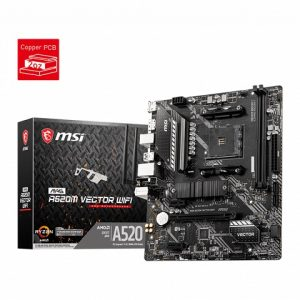 MSI A520M VECTOR WIFI MOTHERBOARD