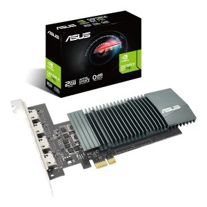 ASUS GT710 (WITH 4 HDMI PORTS) 2GB GDDR5 GRAPHICS CARD