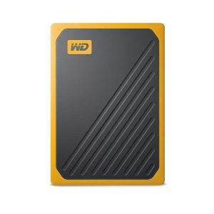 WESTERN DIGITAL 1TB PASPORT MY GO (AMBER) PORTABLE SSD