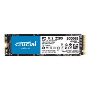 CRUCIAL P2 2TB M.2 NVME INERNAL SSD