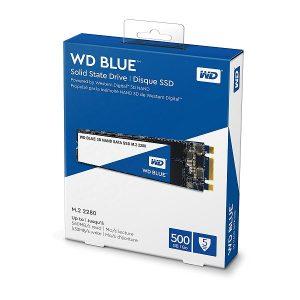 WD BLUE 500GB 3D NAND M.2 SATA SSD