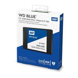 WESTERN DIGITAL 500GB 3D NAND SATA III 2.5 INCH SSD